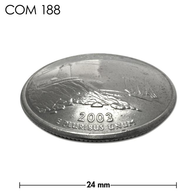 コンチョ/アメリカ/メイン州/25セント/パマキッド岬灯台/銀色/24mm [ポイント40倍]