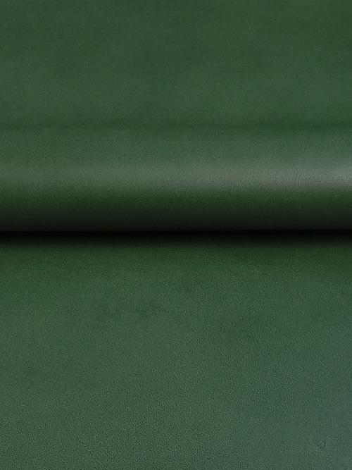 牛ヌメ革【30cm幅】栃木レザー/マット/グリーン