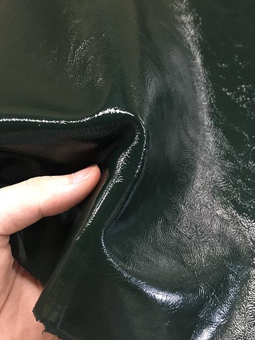 牛革【半裁】ソフトエナメル/1.5mm/グリーン [50%OFF]