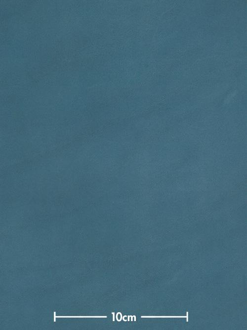 牛ヌメ革【30cm幅】栃木レザー/マット/ブルー