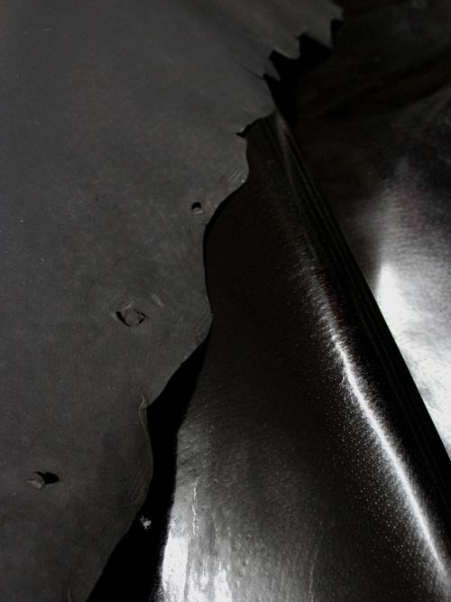 豚革【丸革】0.5mm/色豚/黒 [協進エル] [10%OFF]