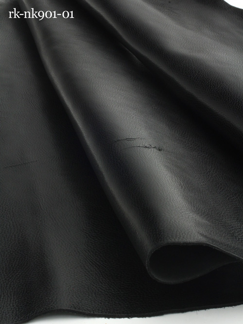 牛ヌメ革【各サイズ】トスカーナ/黒