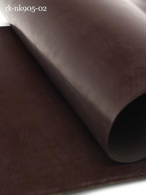 牛ヌメ革【各サイズ】ブライドルレザー/チョコレート