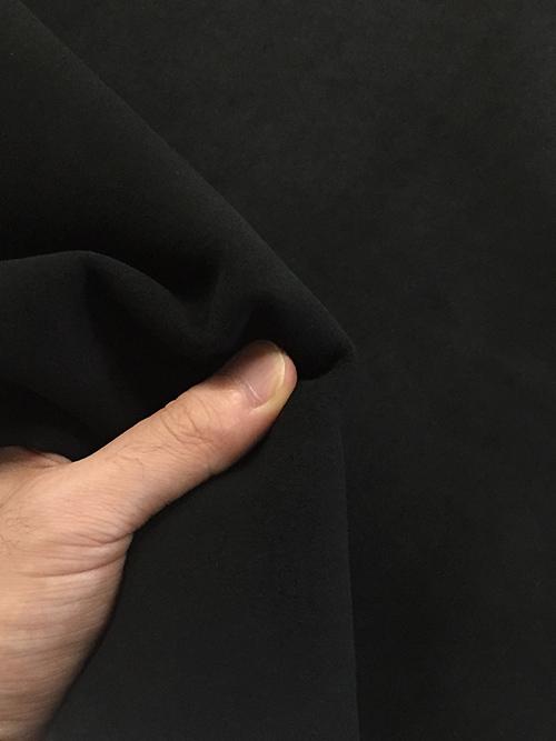 ヤギ革【丸革】スエード/1.0mm/ブラック [50%OFF]