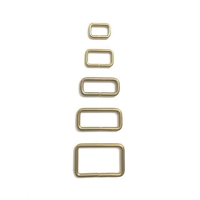 真鍮製(線モノ)角カン/全26サイズ