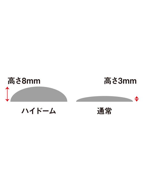 真鍮製コンチョ/ココペリ/ハイドーム/28mm [10%OFF]