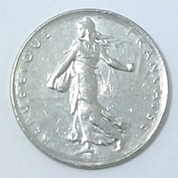 コイン/フランス/1フラン/24mm [ポイント40倍]