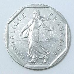 コイン/フランス/2フラン/26mm [ポイント40倍]