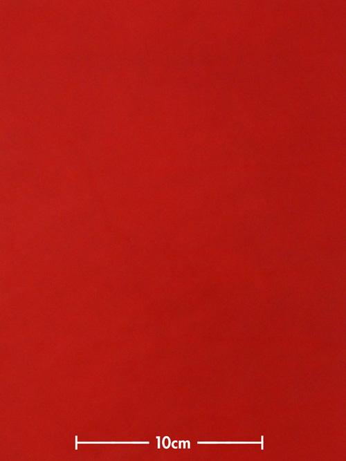 牛ヌメ革【各サイズ】リオ/赤