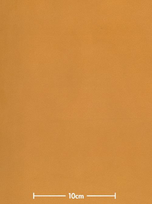 牛ヌメ革【30cm幅】栃木レザー/マット/マスタード