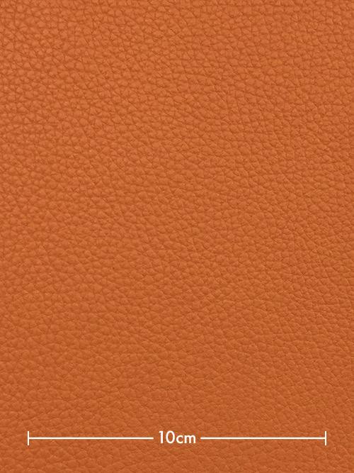 牛革【半裁】クリスパニール/2.3mm/オレンジ [10%OFF]