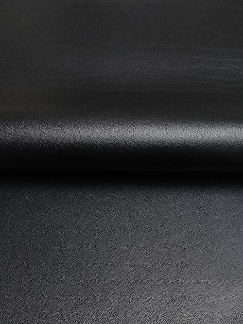 牛ヌメ革【30cm幅】防水革/オイルスムース/ブラック