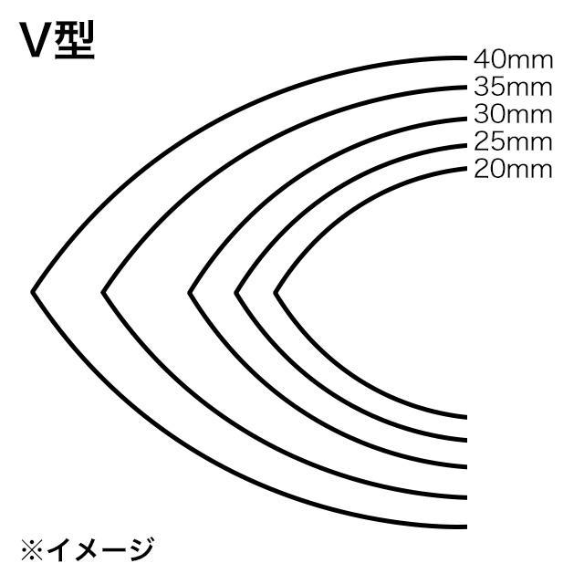 ストラップエンドパンチ/V型/20mm [協進エル]