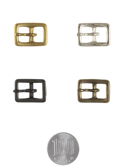 真鍮製バックル110【10mm】ニッケル