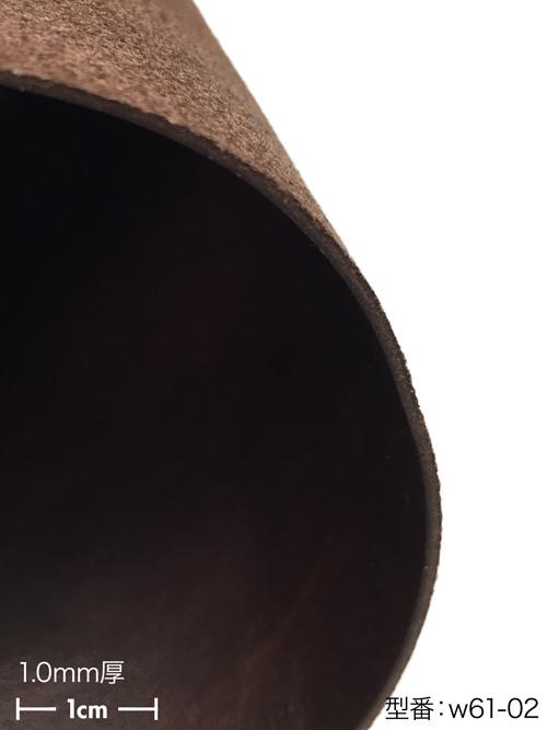 【各サイズ】馬ヌメ革/ホースフロント/ビンテージ/焦茶 [ポイント10倍]