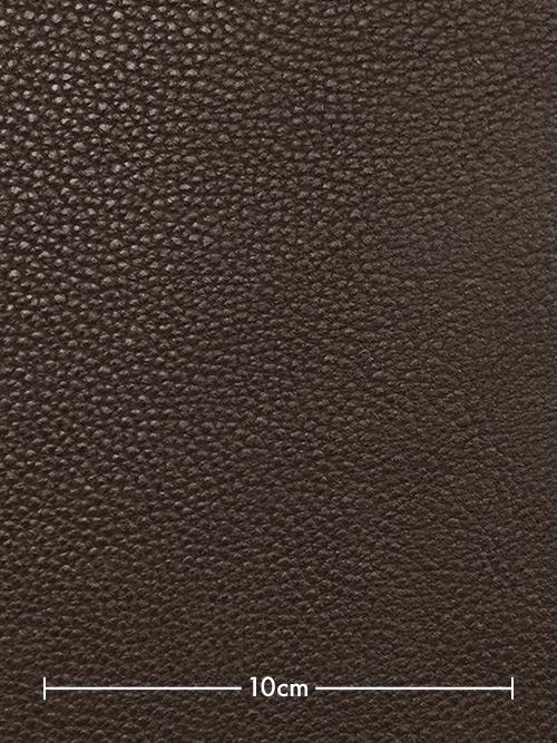 牛革【半裁】トーゴ/2.3mm/チョコ [10%OFF]