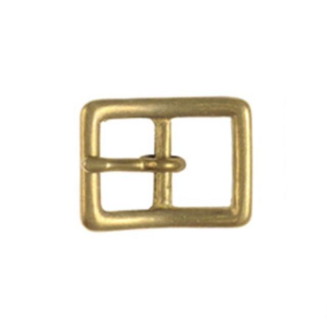 真鍮製バックル110【15mm】真鍮生地