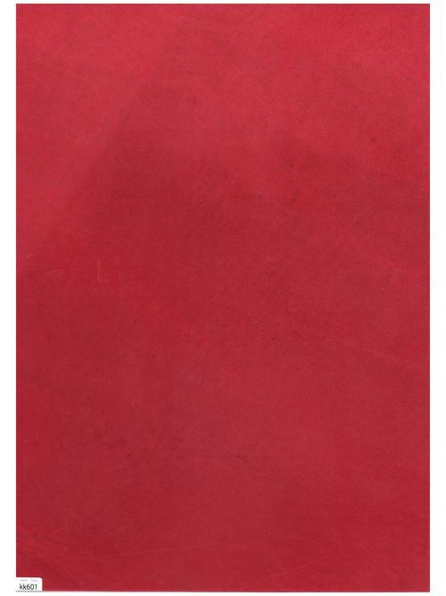 馬革・オイルコードバン【A3】レッド/1.6mm/Aランク [新喜皮革] [10%OFF]
