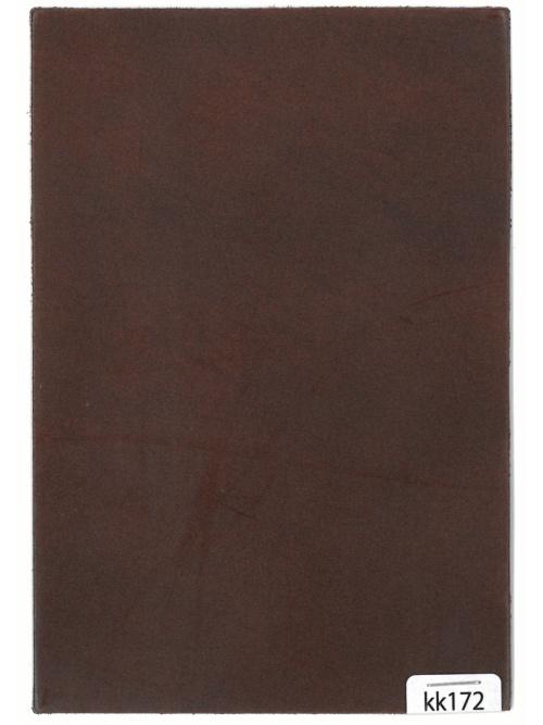 コードバン【ハガキ】ロー引き加工/ブラウン/1.5mm/Aランク [新喜皮革] [10%OFF]