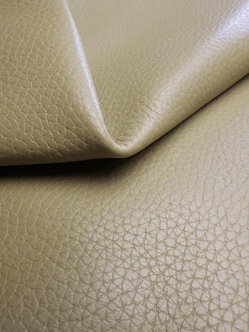 牛革【半裁】型押し(シボ)/1.3mm/グレージュ [50%OFF]