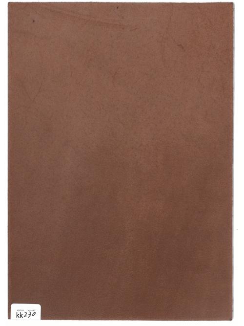 コードバン【A5】ロー引き加工/ブラウン/1.5mm/Aランク [新喜皮革] [10%OFF]