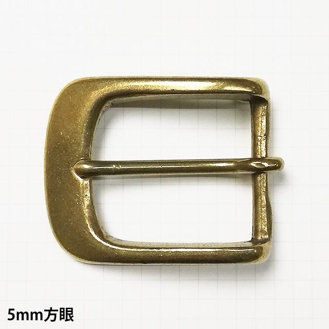 真鍮製バックル282【35mm】真鍮生地
