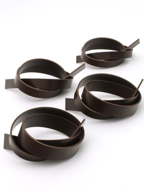 ベルト【長さ110cm】英国産ブライドルレザー/焦茶