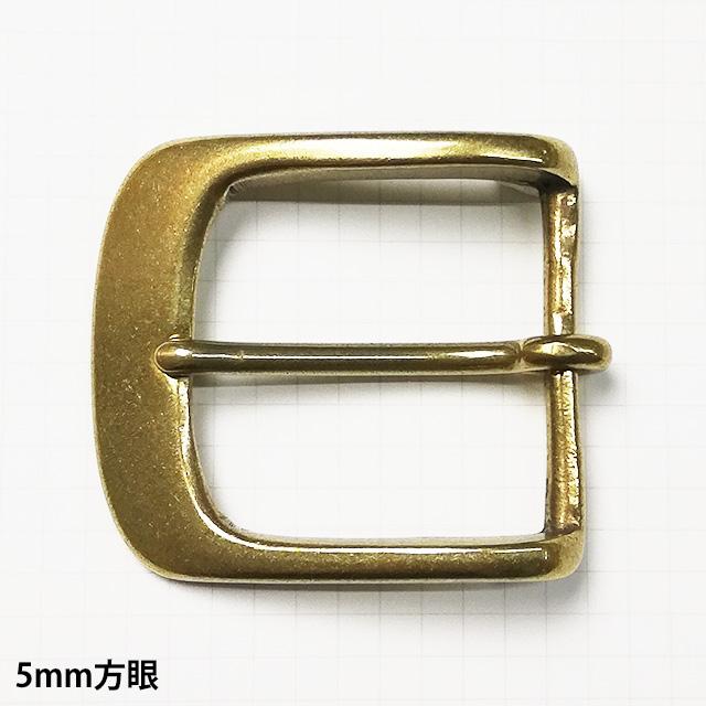 真鍮製バックル282【40mm】真鍮生地