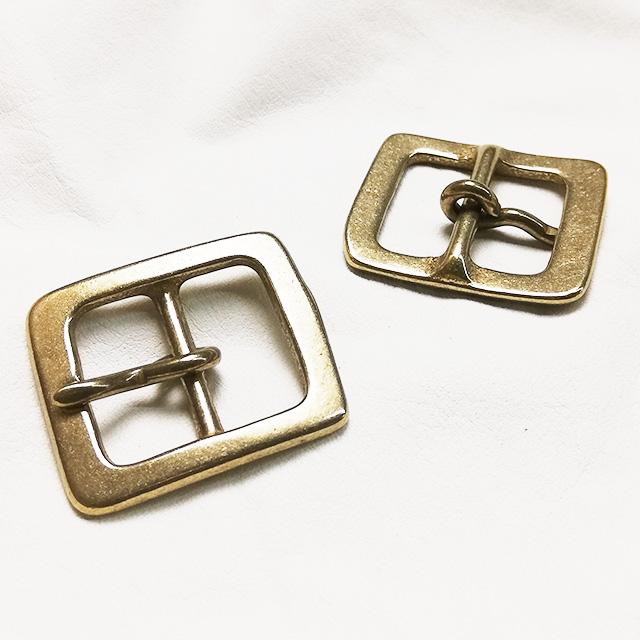真鍮製バックル560【20mm】真鍮生地