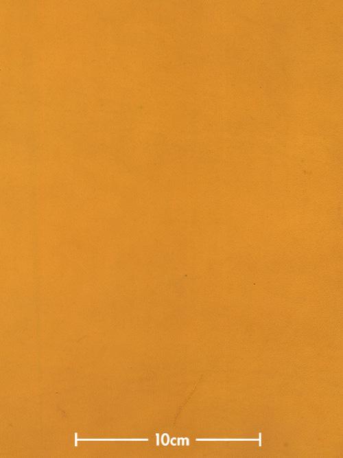 牛ヌメ革【各サイズ】エルバマット/イエロー