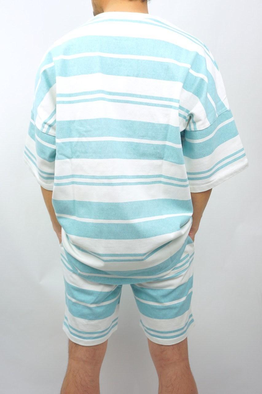 バイオ ボーダーTシャツ