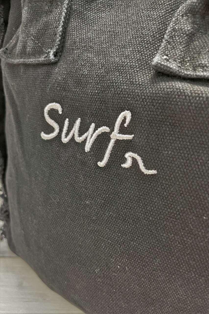 キャンバスフリンジトートSURF