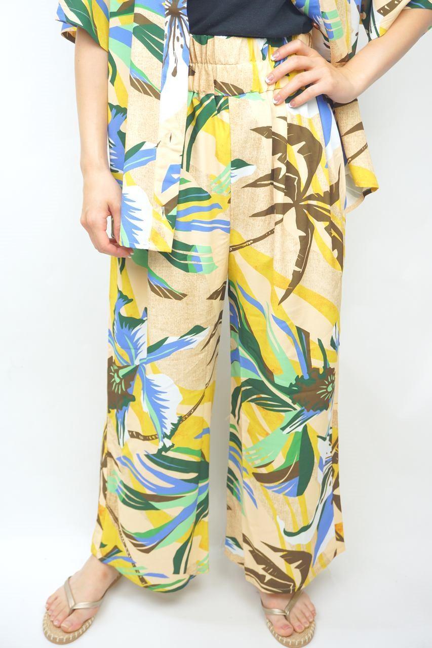 Palm Flowerパンツ