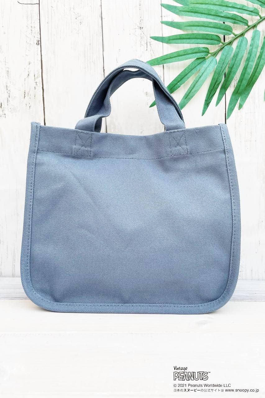 ALOHA PEANUTS ミニランチバッグ C-BLUE