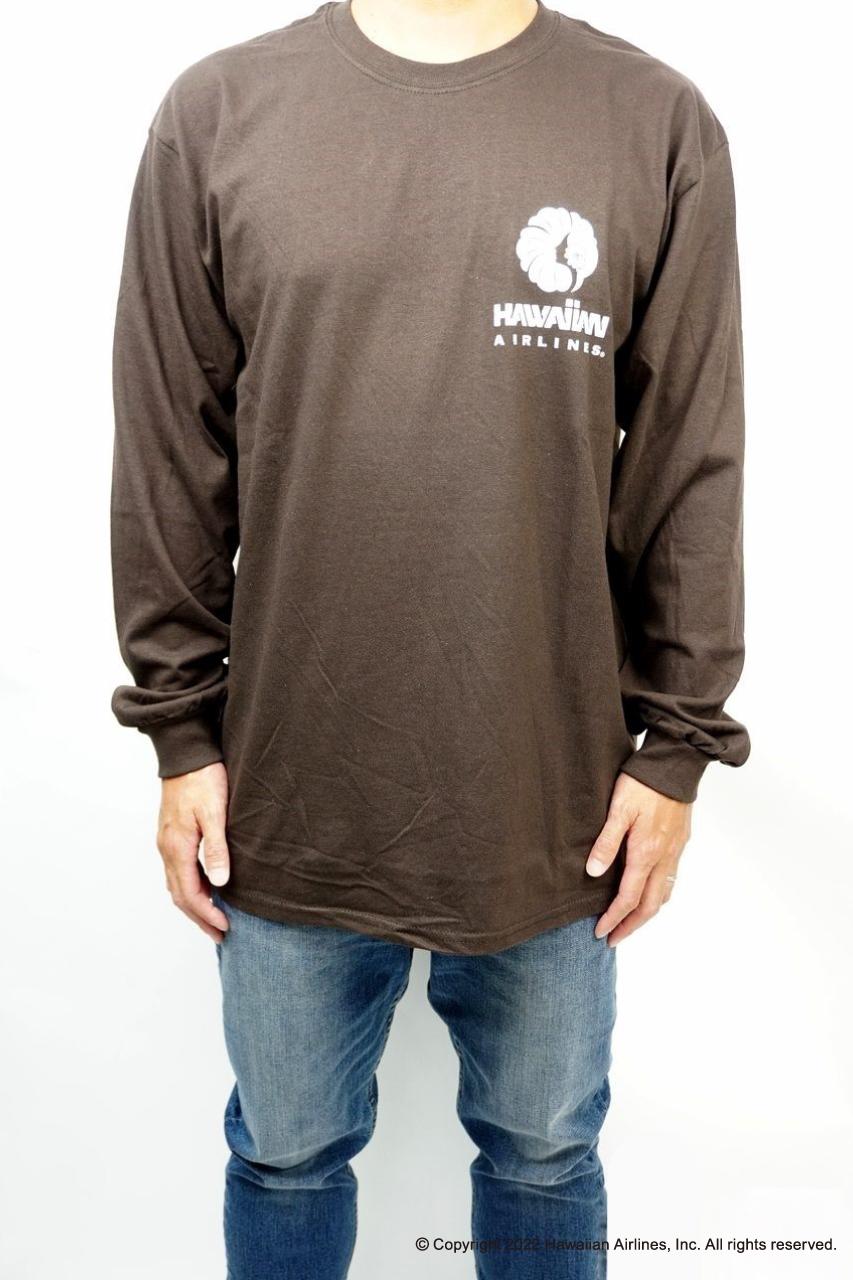 H.AIRLINES LM LIMITED GIRL ロングスリーブTシャツ