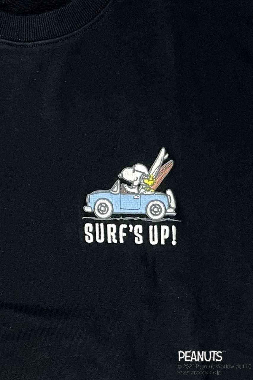 LOCAL MOTION/SNOOPY SURFS UP刺繍トレーナー