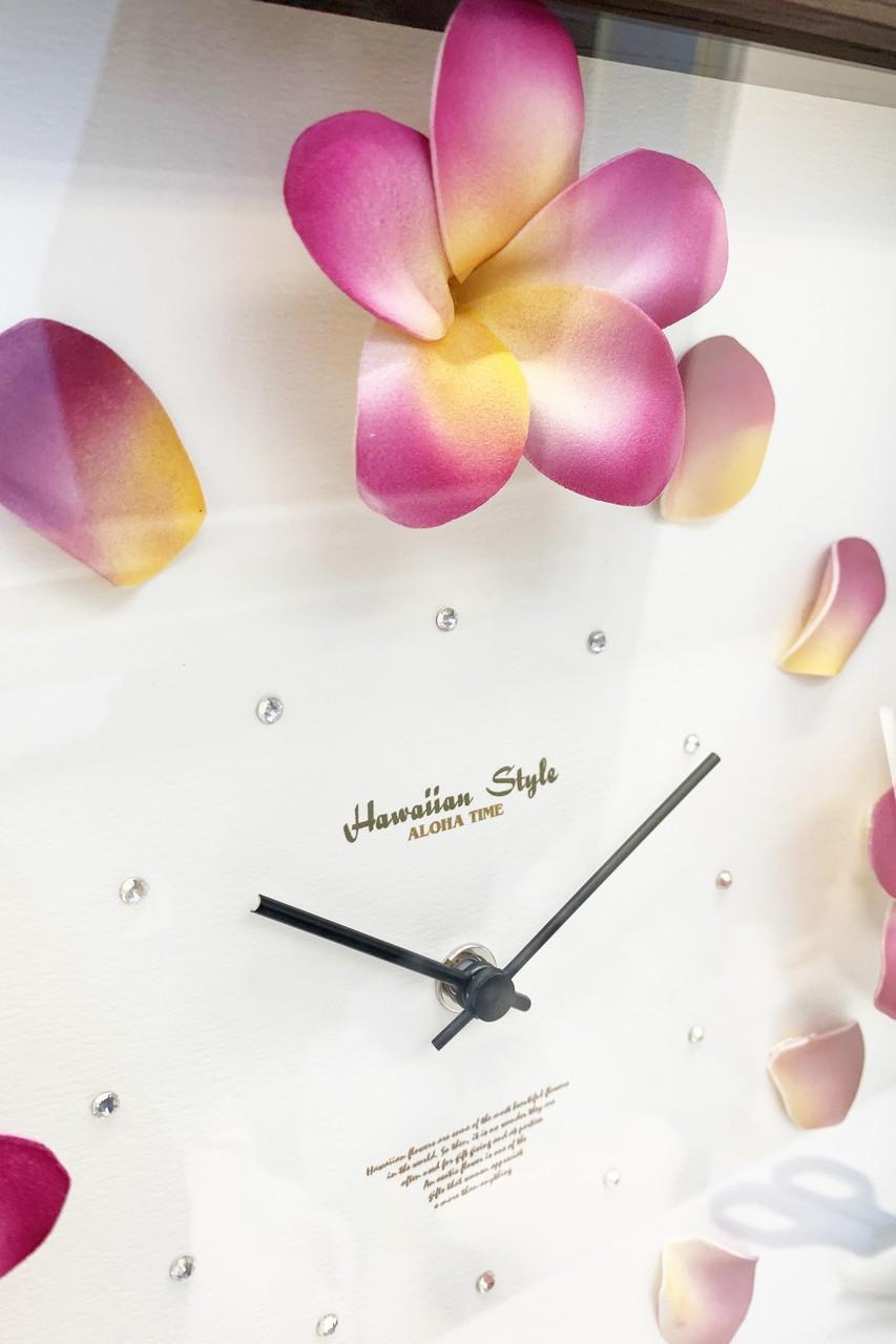 CLOCK2-PLUMERIA