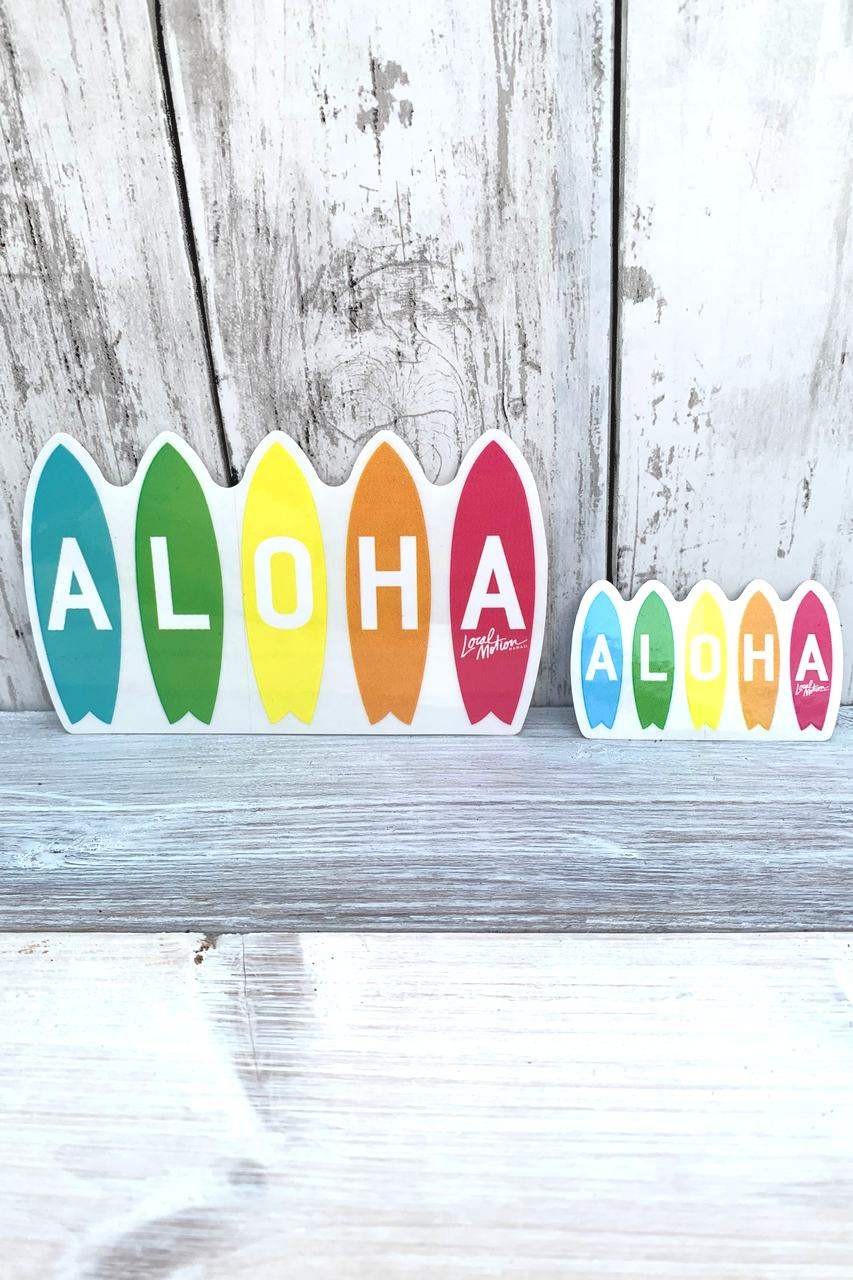 RAINBOW BOARDS 5 DECAL