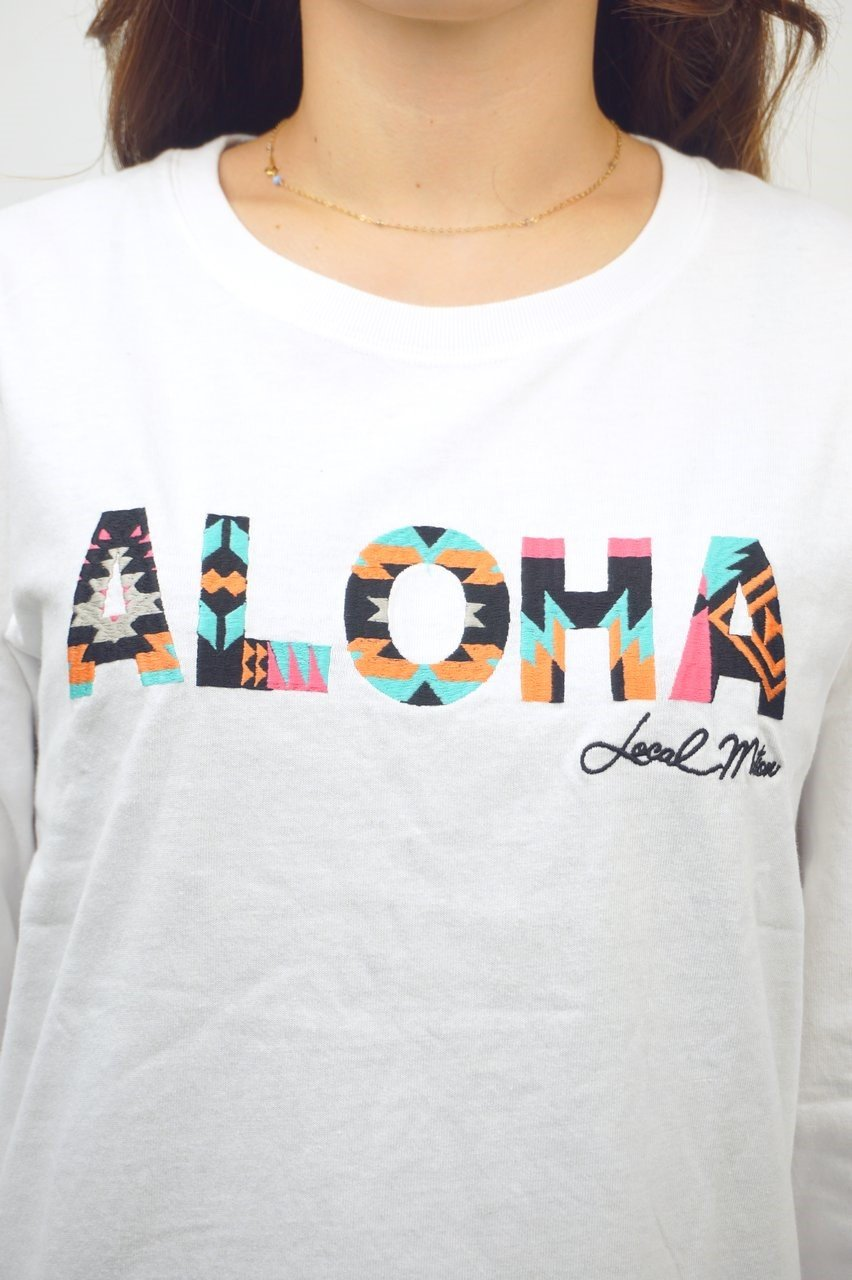 ALOHA刺繍