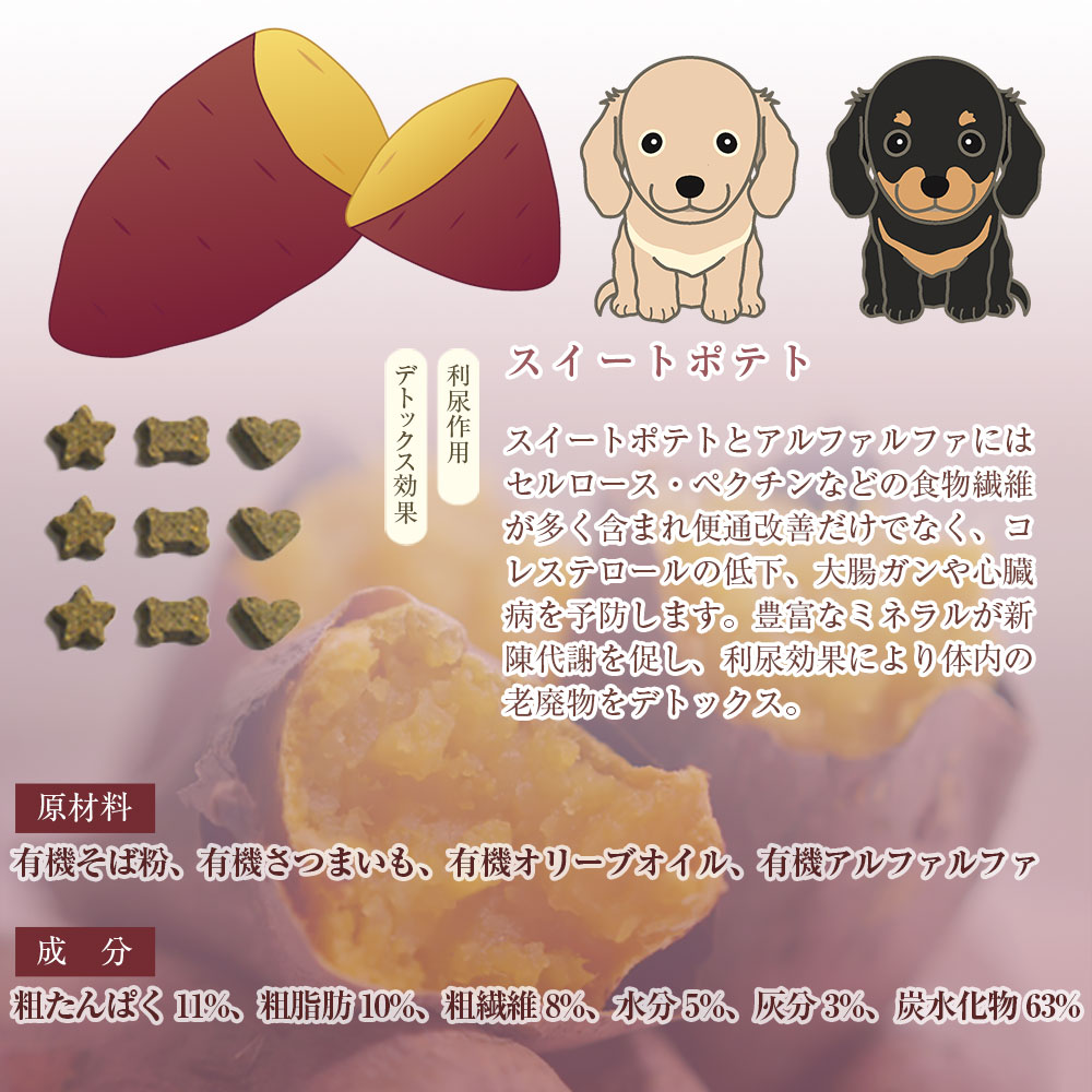 【ハロウィン Special パンプキン&スイートポテト♪】ベジフル レギュラー オーガニック100% 愛犬用クッキー 2個で2,000円!(税抜)! ※賞味期限22年3月以降