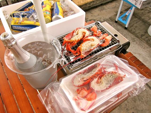 天然カナダ・アメリカ東海岸産 ロブスター【ハーフカット】(オマール海老[エビ])600g以上×3尾