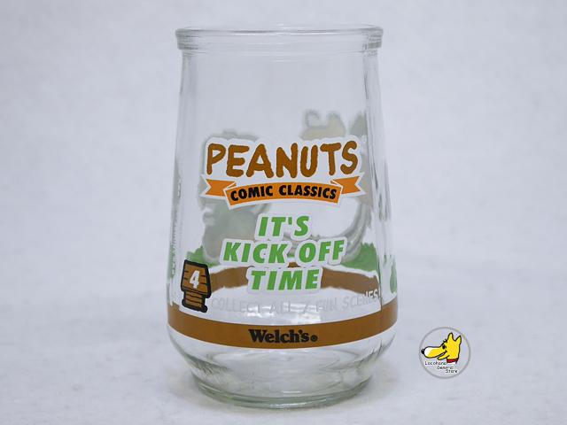 ビンテージ Welch's '90s スヌーピー ピーナッツギャング グラス #4