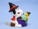 ビンテージ Whitman's  '96  スヌーピー  PVC フィギュア Halloween  Witch