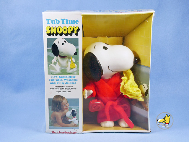 ビンテージ Knickerbocker '82 スヌーピー Tub Time Snoopy 箱入未開封