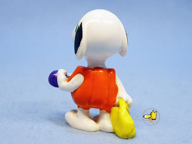 ビンテージ Whitman's '96 スヌーピー PVC フィギュア Halloween カボチャ
