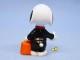 ビンテージ Whitman's '96 スヌーピー PVC フィギュア Halloween スケルトン