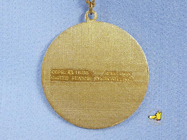 ビンテージ Aviva '76 スヌーピー 200周年 ネックレス