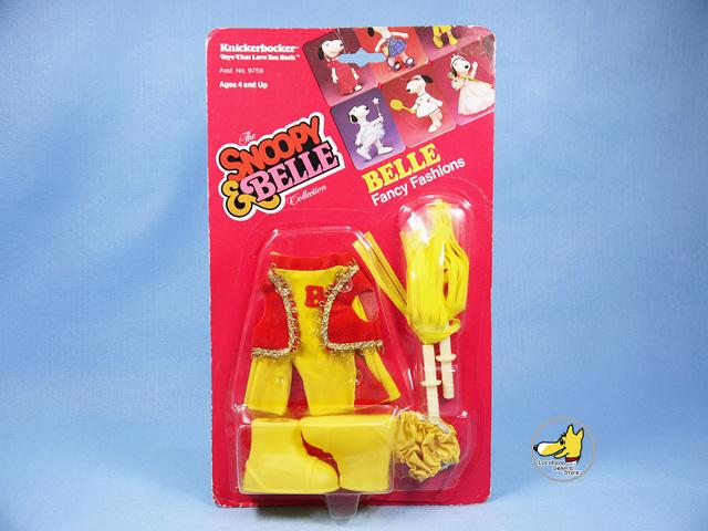 ビンテージ Knickerbocker '83 スヌーピー Fun  Fashions ベル Outfits Cheerleader