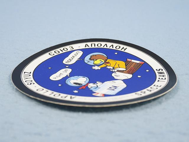 ビンテージ  '70s  スヌーピー APOLLO SOYUZ  ステッカー アポロ ・ソユーズ