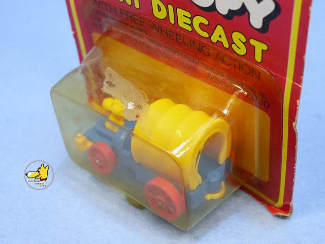 ビンテージ Aviva 1970〜80's スヌーピー Mini Diecast ミニダイキャスト パッケージ入 2個セット